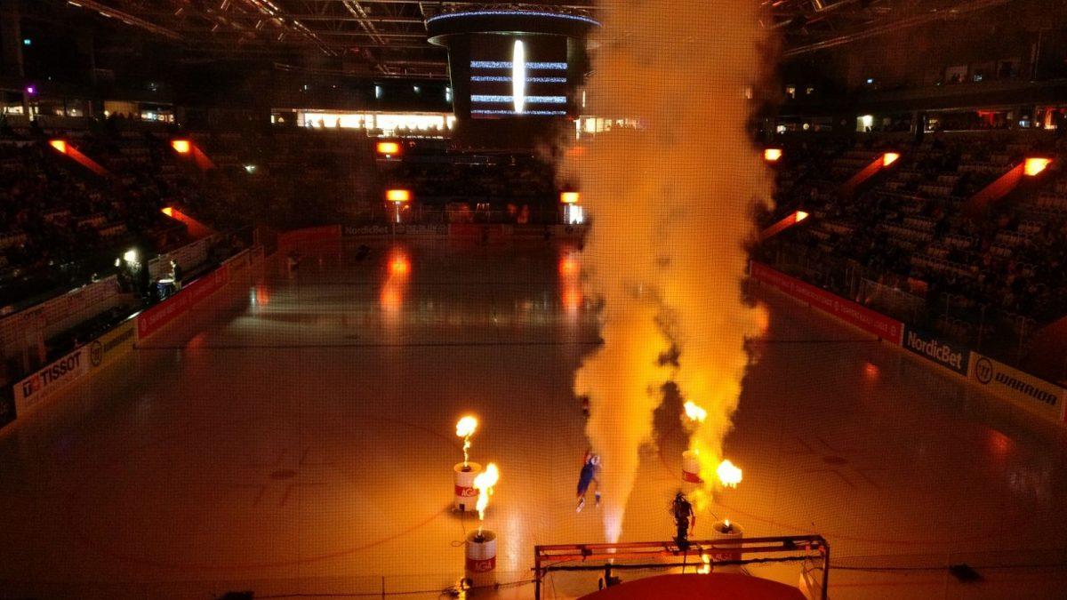 Spontaner Eishockeybesuch
