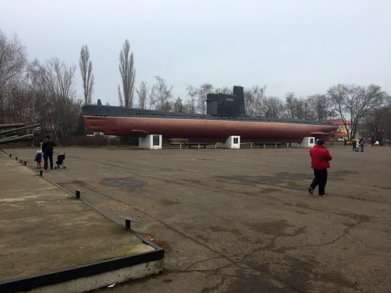 Gedenkstätte in Odessa