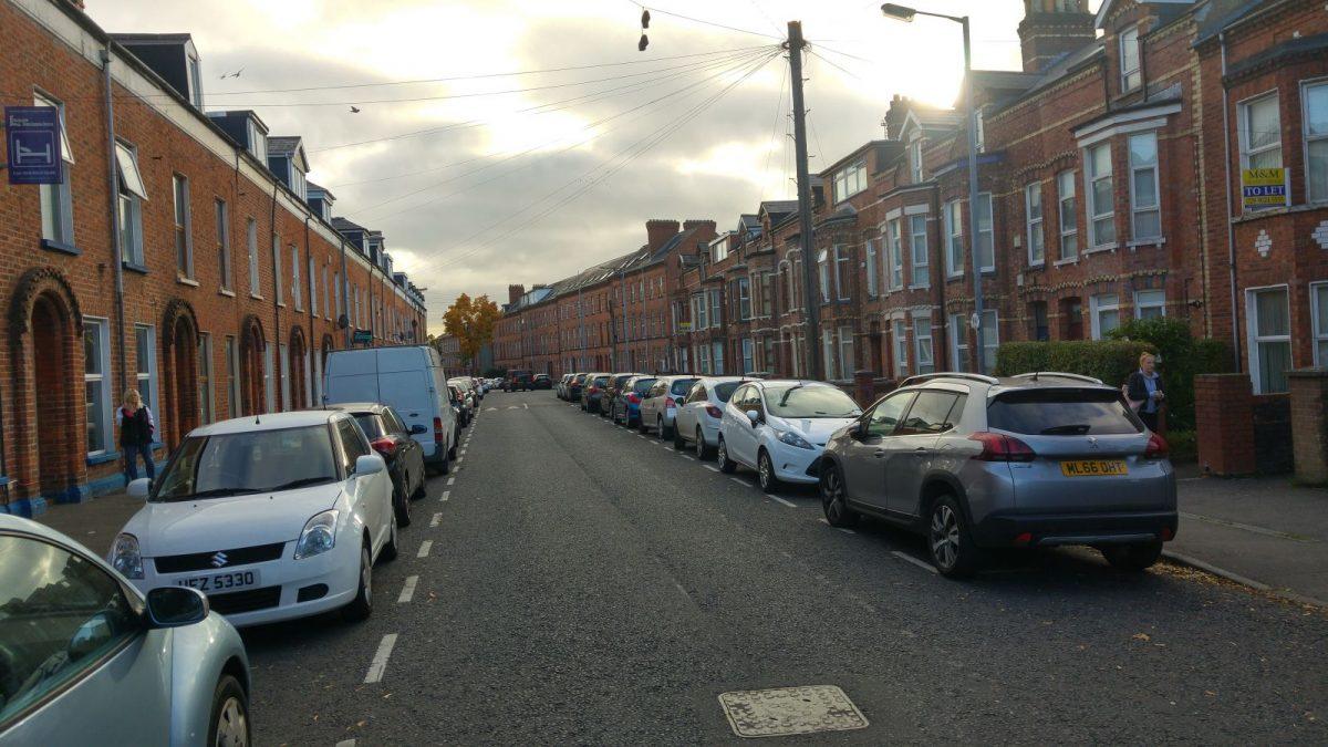Belfast Ankunft und Unterkunft